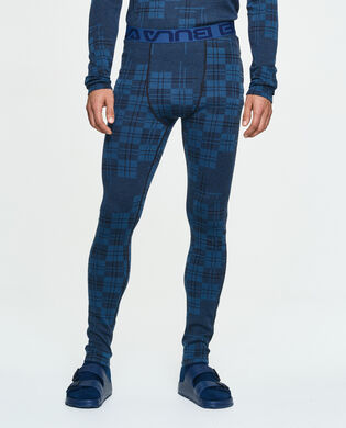 Check Merino Wool Pants, , hi-res